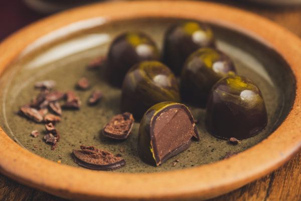 Honey Ganache Chocolates